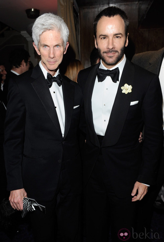 Tom Ford y Richard Buckley