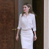 La Princesa Letizia en una audiencia a la Fundación Síndrome de Down Madrid