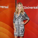 Heidi klum en la presentación de America's Got Talent