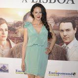 Mónica Estarreado en el estreno de 'Tren de noche a Lisboa'