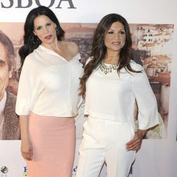 Azúcar Moreno en el estreno de 'Tren de noche a Lisboa'