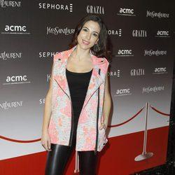 Alicia Rubio en una noche de moda y belleza en Madrid