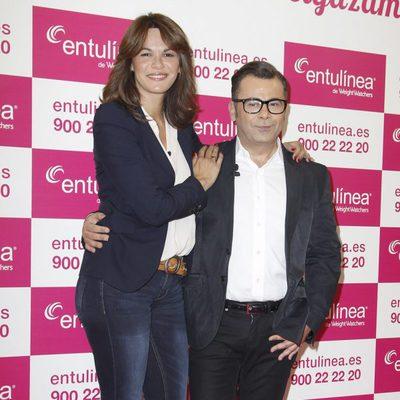 Fabiola Martínez y Jorge Javier Vázquez en un acto promocional