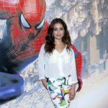 Hiba Abouk en el estreno de 'The Amazing Spider-Man 2' en Madrid