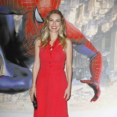 Kira Miró en el estreno de 'The Amazing Spider-Man 2' en Madrid