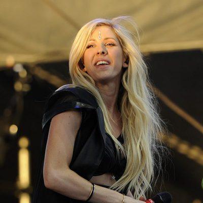 Ellie Goulding en el festival de música Coachella 2014