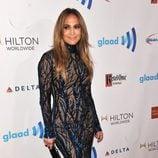 Jennifer Lopez en los Premios GLAAD 2014