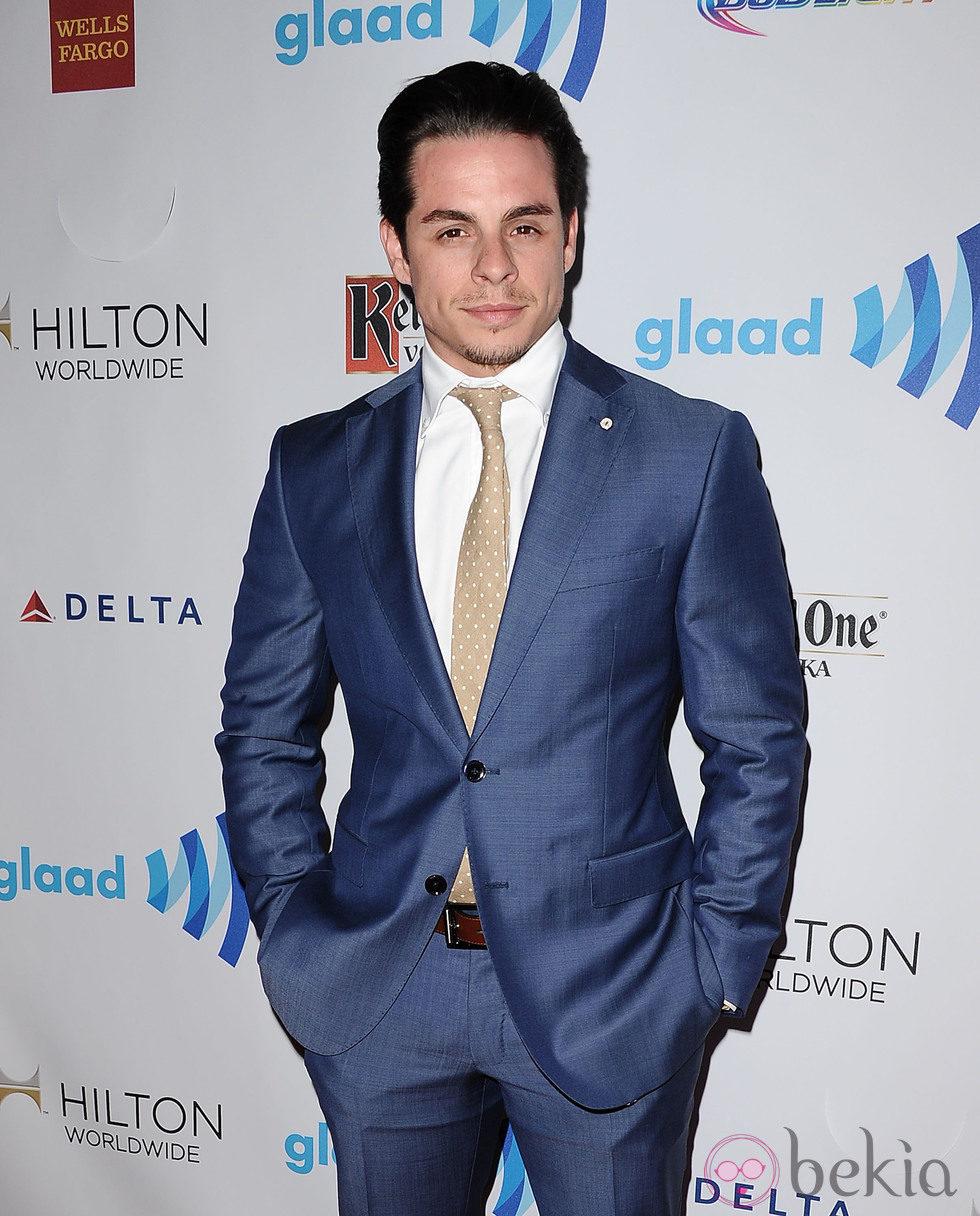 Casper Smart en los Premios GLAAD 2014