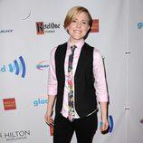 Hannah Hurt en los Premios GLAAD 2014