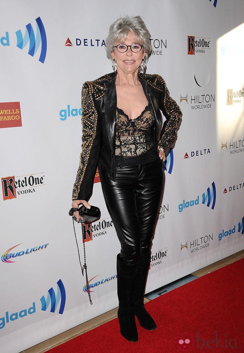 Rita Moreno en los Premios GLAAD 2014