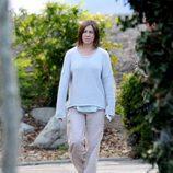 Jennifer Aniston pasea desaliñada en el rodaje de 'Cake'