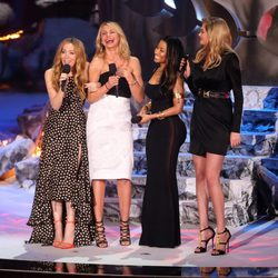 Leslie Mann, Cameron Diaz, Nicki Minaj y Kate Upton en los MTV Movie Awards 2014