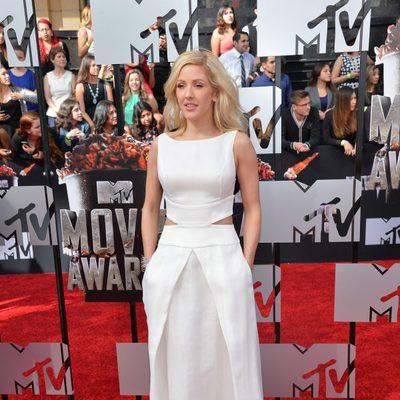 Ellie Goulding en los MTV Movie Awards 2014