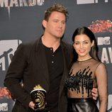 Channing Tatum y Jenna Dewan Tatum en los MTV Movie Awards 2014