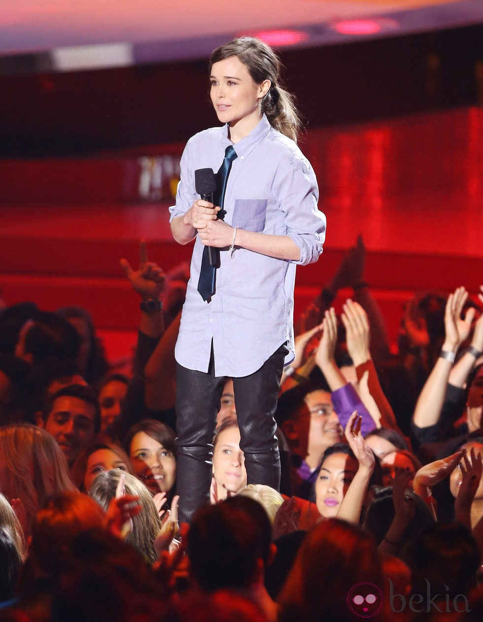 Ellen Page en los MTV Mvovie Awards 2014