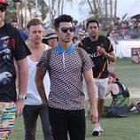 Joe Jonas en el Festival Coachella 2014