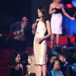 Jordana Brewster durante los MTV Movie Awards 2014