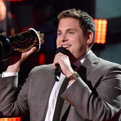 Jonah Hill en los MTV Movie Awards 2014