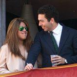 Chabelita Pantoja y Alberto Isla, muy enamorados en la Semana Santa de Sevilla