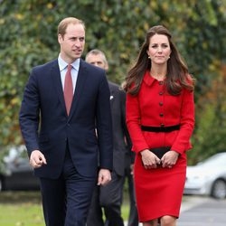 El Príncipe Guillermo y Kate Middleton en Christchurch