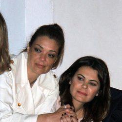 Lucía Hoyos y María José Suárez en la Semana Santa 2014
