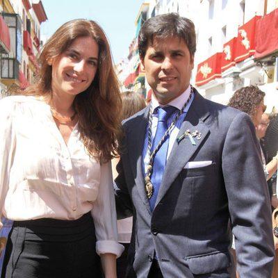 Fran Rivera y Lourdes Montes en la Semana Santa de Sevilla 2014