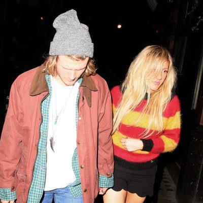 Dougie Poynter junto a Ellie Goulding juntos por las calles de Londres