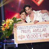 Felipe López junto al ganador de '¡Mira quién baila!' Miguel Abellán