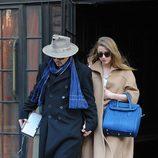 Amber Heard y Johnny Depp cogidos de la mano por Nueva York