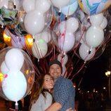Megan Fox y Brian Austin Green en Disneyland