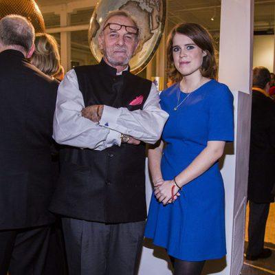 La Princesa Eugenia de York con Mark Shand en un evento en Nueva York