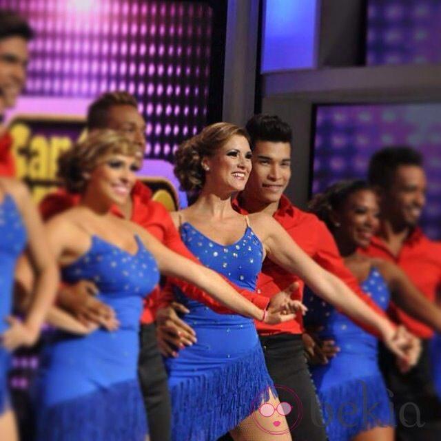 María Jesús Ruiz bailando en 'Dancing with the stars'