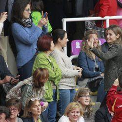 La Princesa de Asturias en los Campeonatos de España en edad escolar de Voleibol 2014
