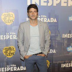 Félix Gómez en el estreno de 'La vida inesperada'