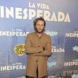 Pablo Rivero en el estreno de 'La vida inesperada'
