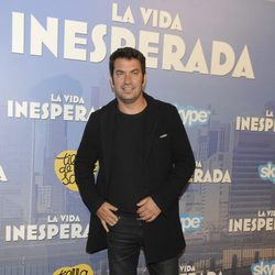 Arturo Valls en el estreno de 'La vida inesperada'