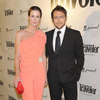 Manuel Martos y Amelia Bono en los Premios Conde Nast Traveler 2014