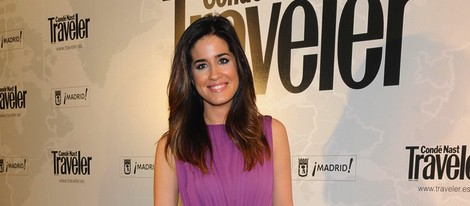 Isabel Jiménez en los Premios Conde Nast Traveler 2014