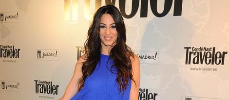 Almudena Cid en los Premios Conde Nast Traveler 2014