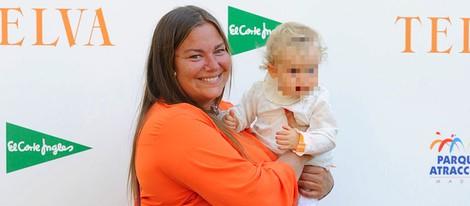 Caritina Goyanes con su hija Caritina en los Premios Telva Niños 2014