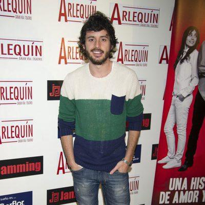 Javier Pereira en el estreno de 'Una historia de amor y miedo'