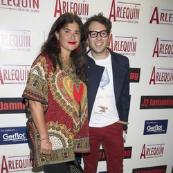 Lucía Etxebarría en el estreno de 'Una historia de amor y miedo'