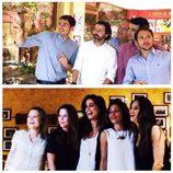 Iker Casillas, Sara Carbonero, Pedro Piqueras, Amelia Bono y más, de cena en Madrid