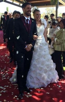 Maria Lapiedra y Marc Amigó celebran su boda en Barcelona