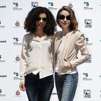 Irene Visedo y Silvia Abascal en el final del torneo Conde de Godó 2014