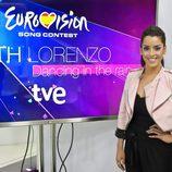 Ruth Lorenzo antes de viajar a Copenhague para participar en Eurovisión 2014