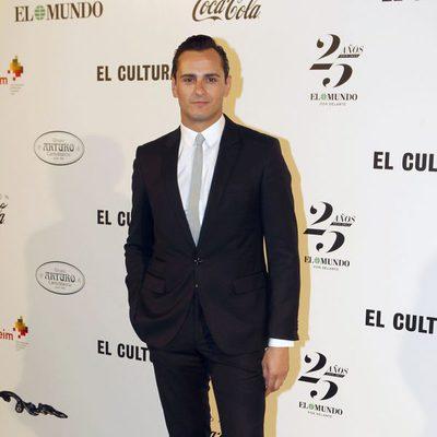 Asier Etxeandía en la entrega del Premio Valle-Inclán de Teatro 2014