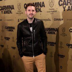 Julián López en el estreno de 'Carmina y amén' en Madrid