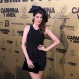 Elia Galera en el estreno de 'Carmina y amén' en Madrid