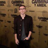 David Castillo en el estreno de 'Carmina y amén' en Madrid